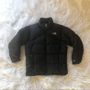 The North face coat black winter coat warm medium